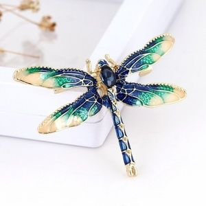 New Dragonfly Lapel Pin Brooch